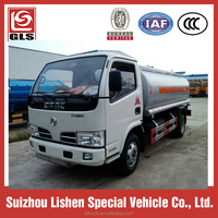 Dongfeng small fuel tanker 5000L,refuelling machine system