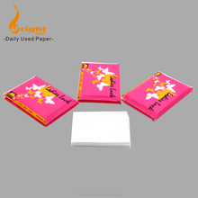 Promotional soft and nice design Wallet Tissue