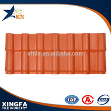 Strong fire retardant plastic synthetic resin tile roofing prices