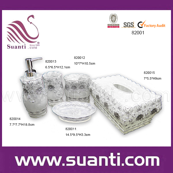 Custom square resin modern complete  strong decorative  strong  chrismas  cheap home. Wholesale decor bathroom sets   Online Buy Best decor bathroom