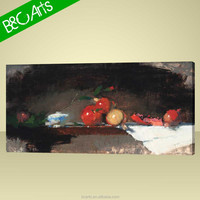 Abstract Apple On The Table Printed Canvas Picture
