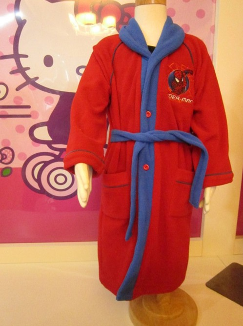 China Garment Factory Kids100% Polyester Coral Fleece Thick Robes