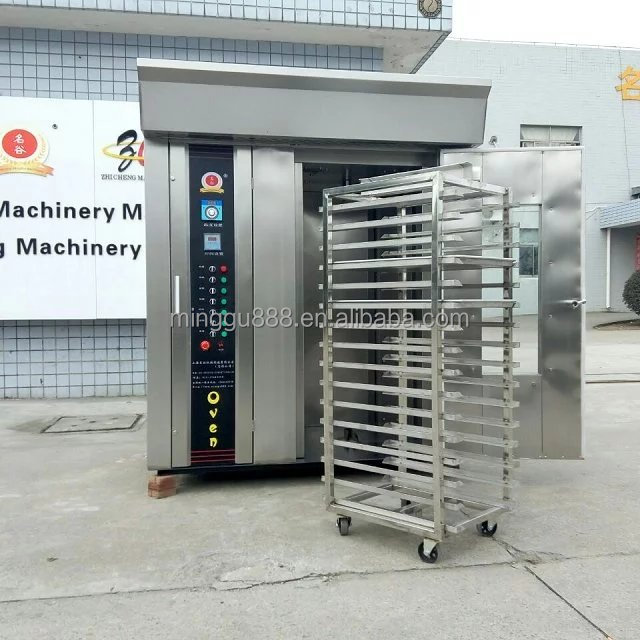 Bread Usage and TRAYS OVENS Type rotary rack oven 32 trays