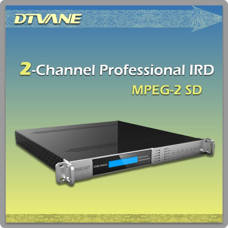 DMB-9060A Cost-effective HD Decoder Receiver With SDI/HDMI/CVBS/IP/ASI output