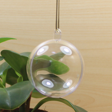 Manufacturer customize ceiling hanging christmas ball decorations