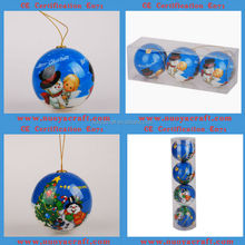 2015 popular gift items with PVC packing polyfoam paper ball