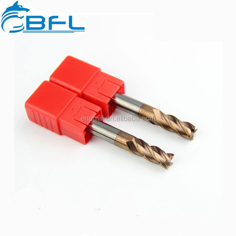 BFL Carbide 4 Flutes Flat End Mill Miling Cutter Cutting Tools