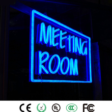 Vintage LED Neon Sign Light for Home, Custom Neon Logo Art Signature Light with Tube Board