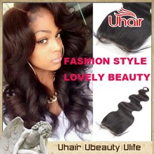 Factory directly sale double weft 7A grade hair, remy virgin brazilian body wave with closure