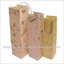 wine bottle paper gift bags