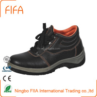 Safety shoes mens working shoes to safe cow leather upper hot construction For building worker