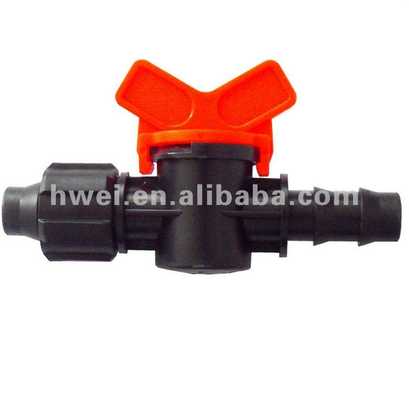 high performance price ratio Huawei Brand Irrigation drip tape water bypass valves for 16mm drip tape