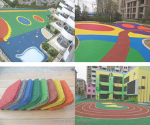 wholesale high quality outdoor play ground rubber mat