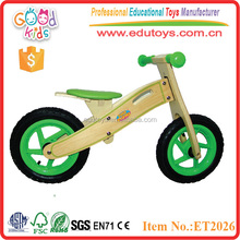 2015 Good price 4 wheels wooden kart with seat mat