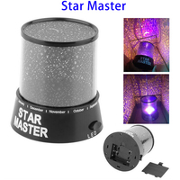 Super September Purchasing Star Master USB Battery Opetated Night Sky Star Projector Night Light
