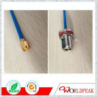 cable assembly, jumper, pigtail, rf connector with coaixal cable, SMA, MCX, MMCX, BNC, N, IPX