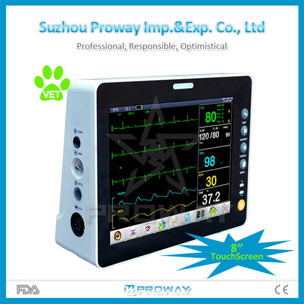 Veterinary/Animal Equipment Vital Signs Patient Monitor for Hospital and Clinic Use