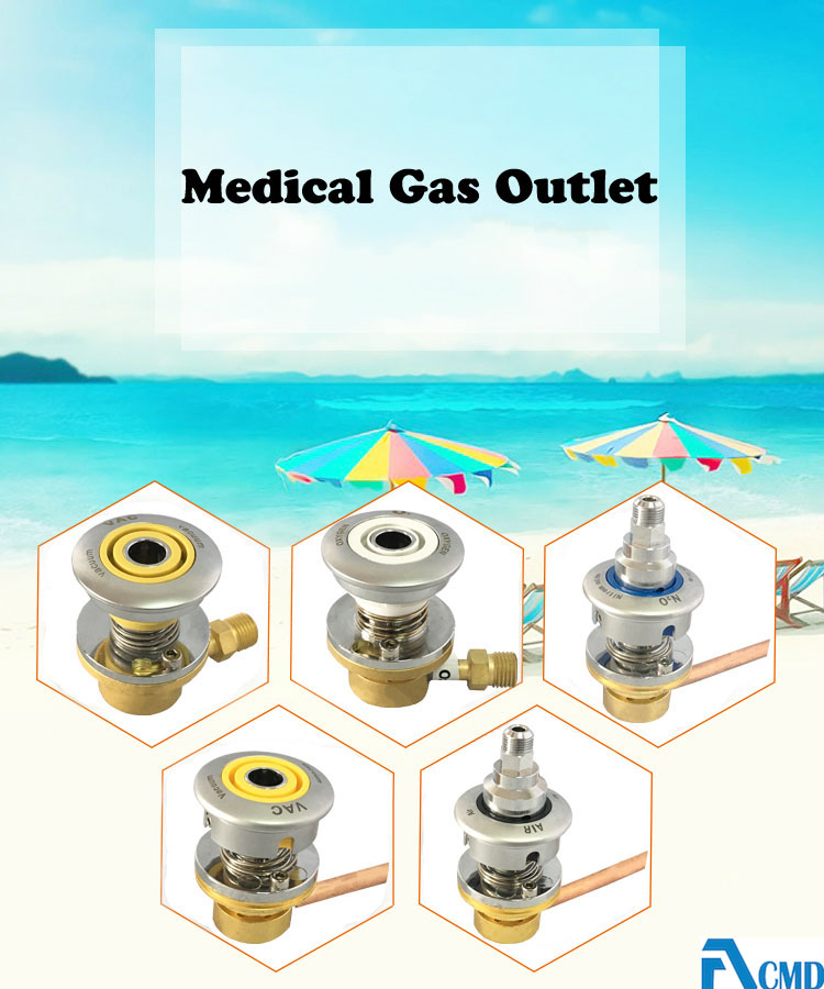 Console Assembly Medical Gas Outlet Oxygen Outlet