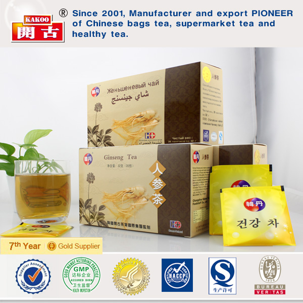 Korean instant ginseng ginger tea Korean red ginseng tea (granule)