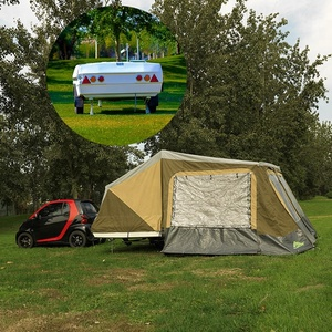 Hot sale 4x4 4wd small camper trailers tent for 5+ person camping