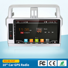 10.1 inch Android 6.0 Touch Screen Car Radio for Toyota Prado 2014 2015 2016 with GPS Mirror Link 3G Wifi Bluetooth