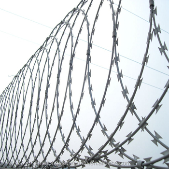 hot sale anti-theft BTO&CBT low price razor barbed wire mesh fence