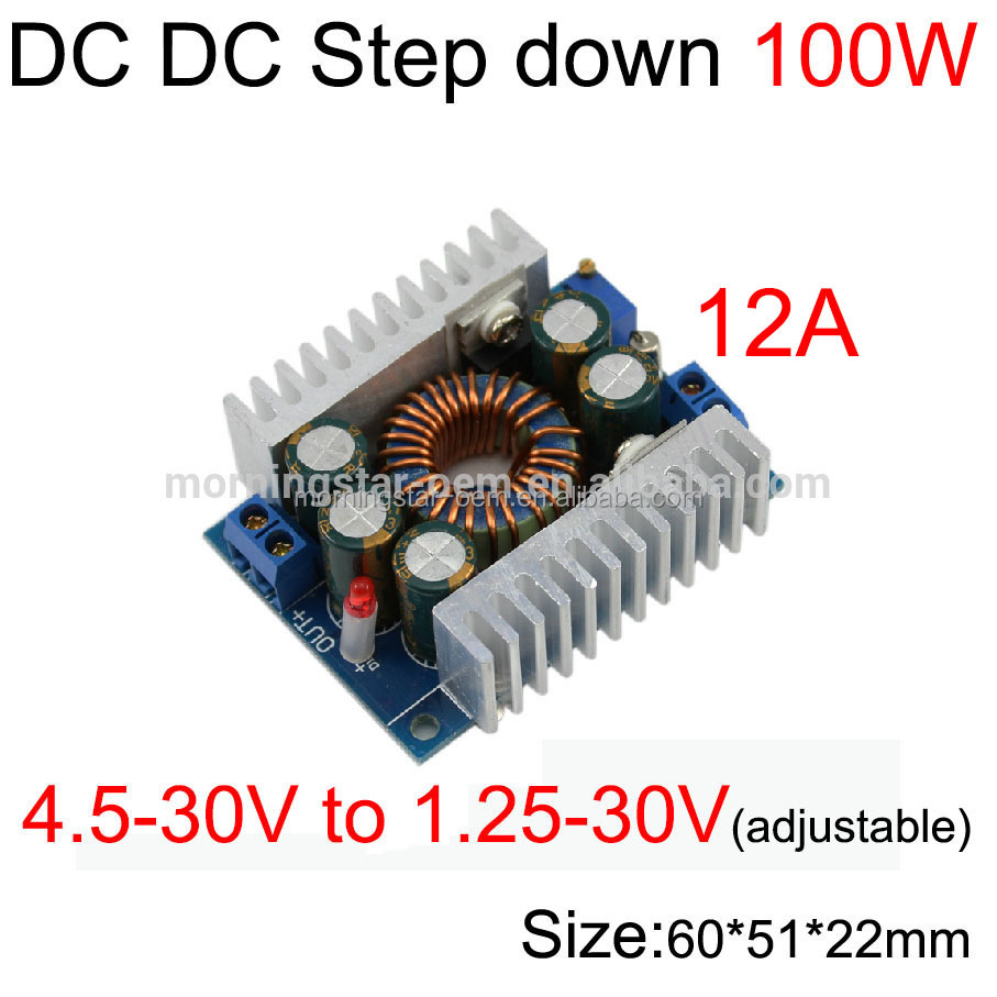 DC to DC step down converte/inverter buck module converter for car power supply/ laptop/ led driver12V to 5V 24V to 5V converter