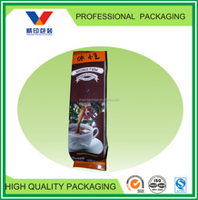 Tin tie sealed air valve coffee packaging for coffee market