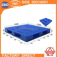 Forklift Used HDPE Or PP Plastic pallet For Logistics Conveying System