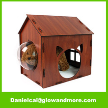 Factory customize Most popular high quality dog house wood