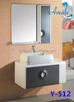 2015 wholesale mirrored bathroom hot selling modern washing machine bathroom cabinet Amaze # Y-512