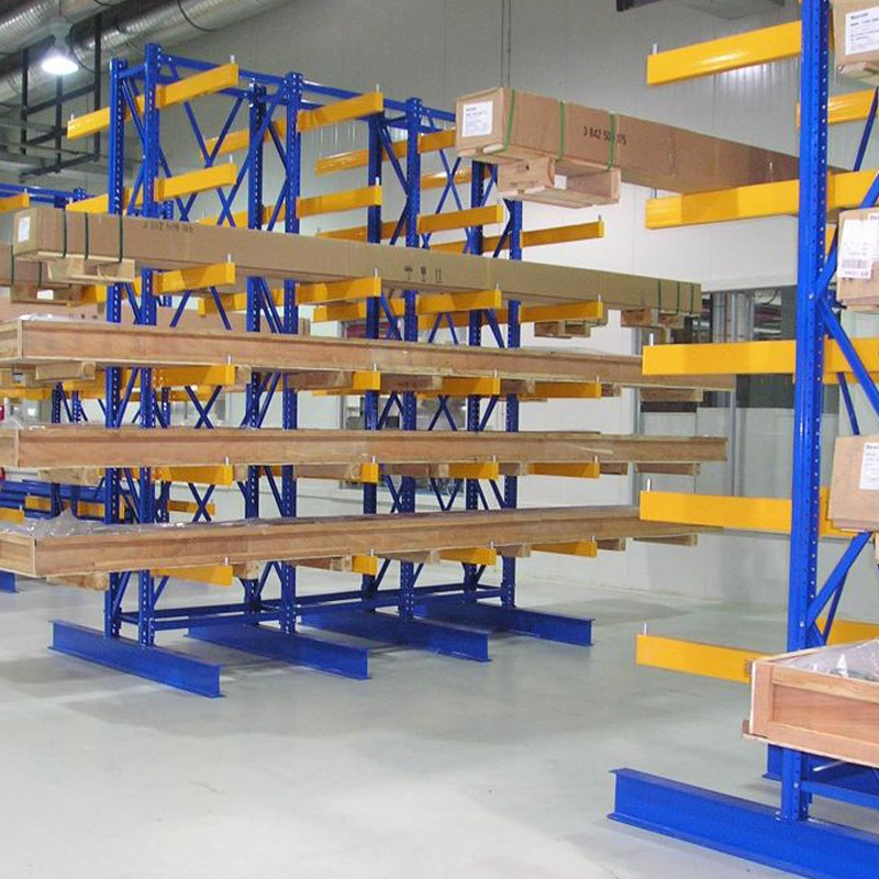 Industrial Cantilever Racking Warehouse Shelving For Storage