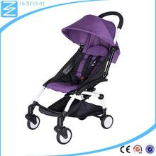 2016 fashion cute large storage basket baby stroller quinny