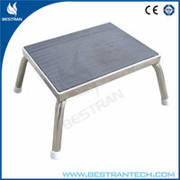 BT-SE003 Hospital medical stainless steel hospital foot stool