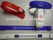 Customized Bracelet USB Flash Drive best promotion gift 2gb/4gb/8gb/16gb (PY-U-027)