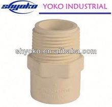 2014 China high quality CPVC pipe fittings Plastic Tubes hollow section pipe for table