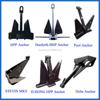 Marine steel ship anchor for sale