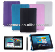 2015 New Product Smart Slim Thin PU Leather Case Cover For Samsung Galaxy Tab 3 10.1