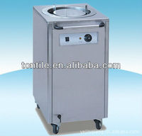 commercial Electric Plate food Warmer aircraft meal Cart