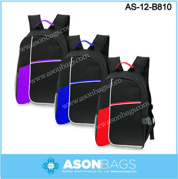Polyester school backpack, School bag