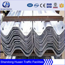 W Beam Guard Rails Protecting road used safety steel Highway Guardrail