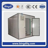 mobile removable floor stand cold storage room build for foods