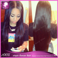wholesale first class pure silky straight lace wig top quality european hair virgin jewish/Kosher wig