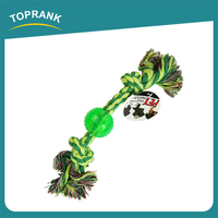 Cheap wholesale pvc ball cotton rope chew toys for dogs