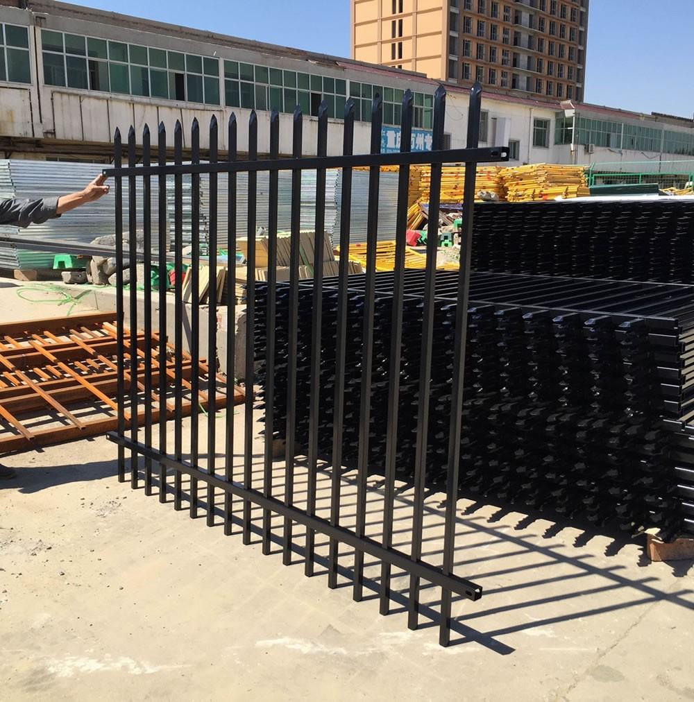 cheap steel square tube metal fence panels buy square. Black Bedroom Furniture Sets. Home Design Ideas