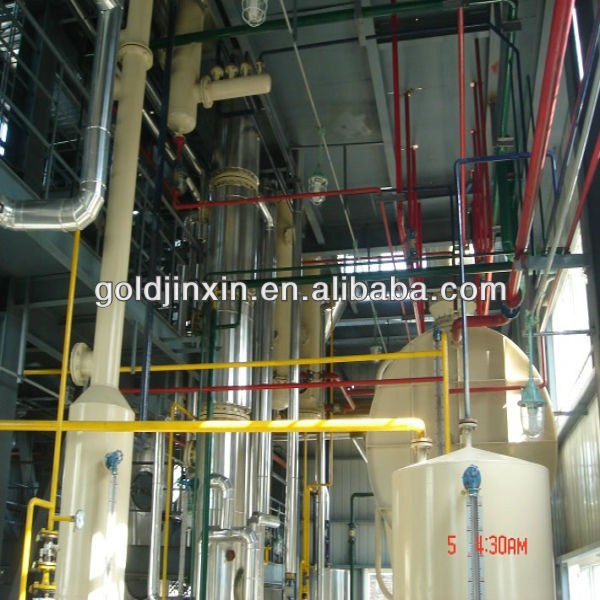 Full Automatic Oil Production Line of Corn Oil Process of Refining Oil