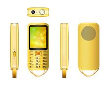 4 Band Mobile Phone Feature Phones with 5000mAh Battery 2 SIM Feature Cell Phones