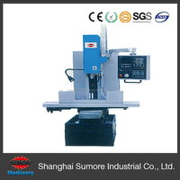 SP2228 CNC metal milling machine with large work table