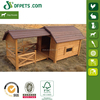 Colorful Wooden Dog Kennel FSC DFD3012