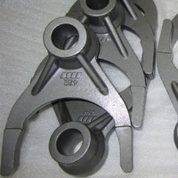 Investment Casting Alloy Steel 42CrMo4 Truck Gear Shift Fork
